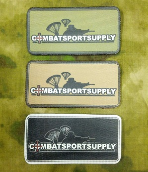 Combat Sport Supply Small Patch
