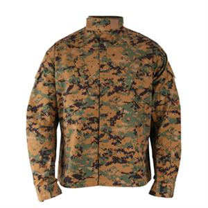 Propper Poly / Cotton BattleRip ACU Style WOODLAND DIGITAL jacket