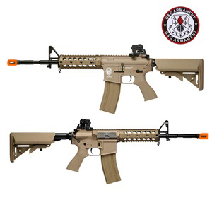G&G GR15 Raider LONG Blowback AEG Desert Tan