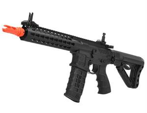 "G&G CM16 SRL 9"" M4 Airsoft AEG with Keymod Rail and 3 Rnd Burst Mosfet  EGC-016-SRL-BNB-NCM"