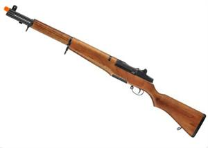ICS M1 Garand Full Metal Real Wood Stock AEG