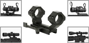 NcStar Quick Release Weaver Style Cantilever Mount with Detachable Rear Ring