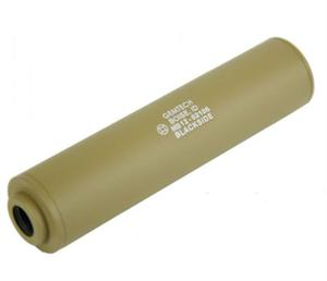 Mad Bull Gemtech Blackside Airsoft Flash Suppressor Silencer CCW TAN