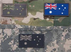 Australian Flag PVC Patch
