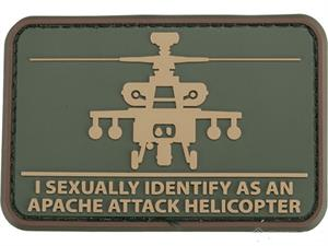 Mil-Spec Monkey Helisexual Morale Patch PVC