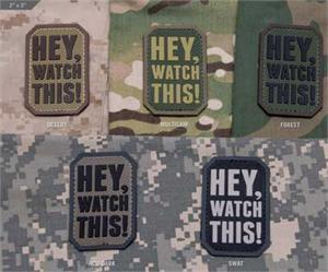 Hey Watch This Morale Patch
