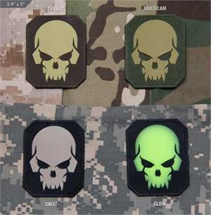 PirateSkull Large PVC Morale Patch