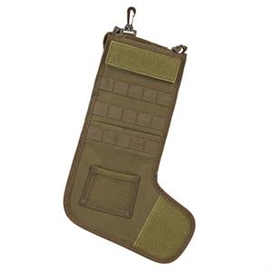 Ncstar Tactical Molle Christmas Holiday Stocking Coyote Tan