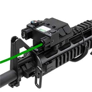 NcSTAR VISM Green Laser & 4 Color NAV LED w/ QR Mount VLG4NVQRB
