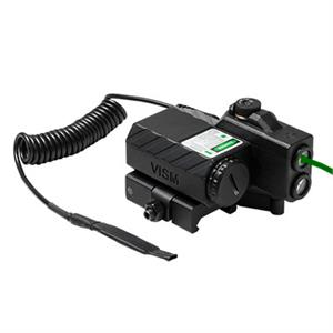 NcSTAR VISM Offset Green Laser & 2 Color NAV Light w/ QR Mount VLGSNVQRB