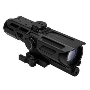 NcStar VISM GEN3 Mark III Tactical 3-9X40 Scope w P4 reticle Blk VSTP3940G