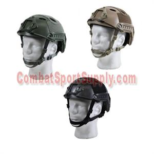 Bravo Airsoft PJ Helmet OD Green Tan Black