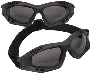 Rothco Ventec Tactcial Goggles ANSI Rated Black 11377