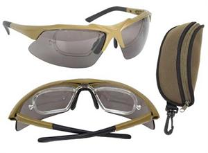 Rothco Tactical Eyewear Kit Coyote 10537