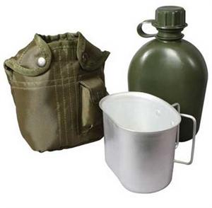 Rothco 3 Piece Canteen Kit With Cover & Aluminum Cup 1140
