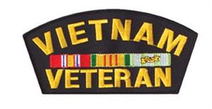 Vietnam Veteran Patch 6""