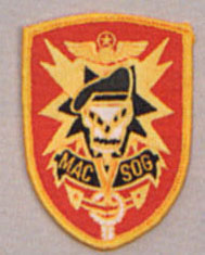 MACV SOG Embroidered Color Patch