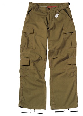 Rothco Vintage Paratrooper Fatigues Russet Brown 2886