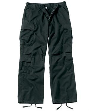 Rothco Vintage Paratrooper Fatigues Black 2986