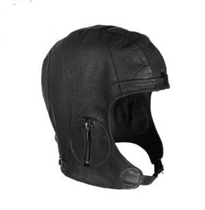 Rothco Leather Pilots Helmet Black