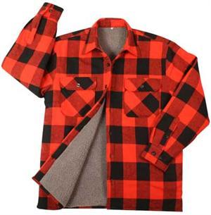 ce18975e02f Rothco Extra Heavyweight Buffalo Plaid Sherpa-lined Flannel Shirts