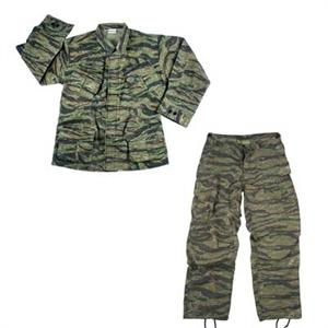Vietnam Era Repro 3rd Pattern Ripstop Jungle Fatigues Tiger Stripe SET Shirt & Pants
