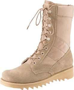 Wave Ripple Sole GI Type Desert Tan Boot Rothco 5058