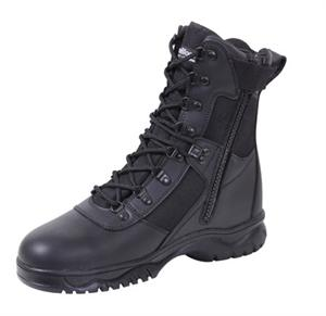 Rothco Insulated 8 Inch Side Zip Tactical Boot Black 5073