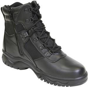 Rothco 6 Inch Blood Pathogen Tactical Boot with side zipper Black 5190