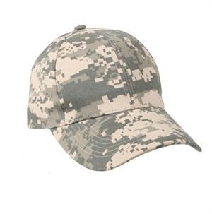 Kid's Adjustable Camo Cap - ACU Digital Camo