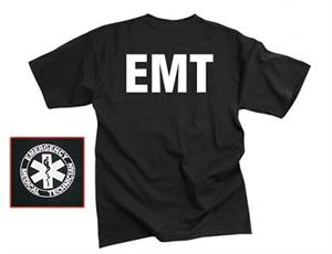 EMT T-Shirt Double Sided Black