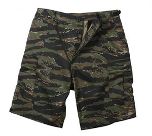Rothco BDU Shorts Poly / Cotton Tiger Stripe Camo