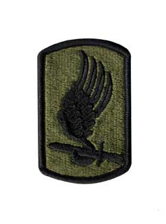 173rd Airborne Brigade Patch Subdued