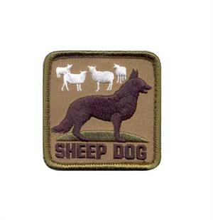 Rothco Sheep Dog Morale Patch 72206