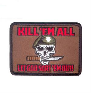 Kill 'Em All Let God Sort em OutMorale Patch