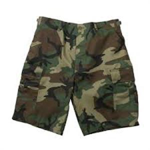 Shorts -Woodland Camo Long Length