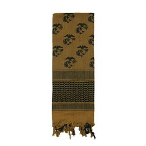 Rothco Globe & Anchor Shemagh Tactical Desert Scarf