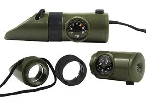 6-IN-1 Led Survival Whistle