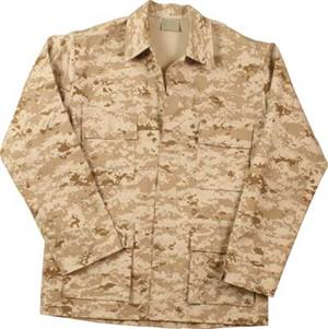 Closeout Desert Digital BDU Battle Dress Uniform Jackets