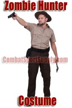 Zombie Hunter Costume Rick Walking Dead