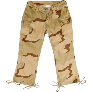 Tri-Color Desert BDU (Battle Dress Uniform) Pants