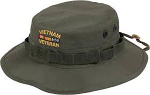 a082d70e395 Rothco Vietnam Veteran Boonie Hat Olive Drab