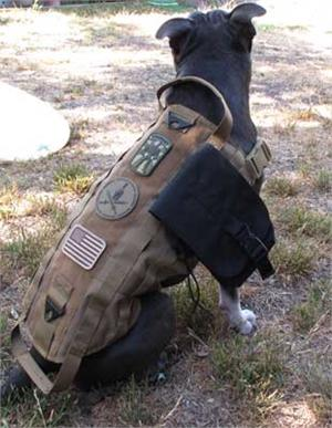 Spartan Tactical K9 Operator Molle Harness for Dogs
