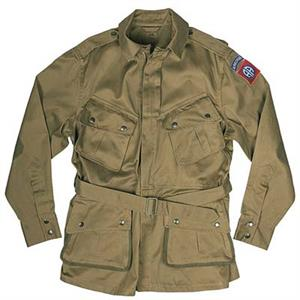 WWII US Paratrooper Jacket Reinforced New Reproduction