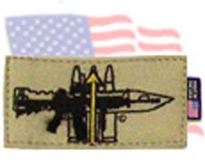 Symbology Identifier Patch RIFLEMAN