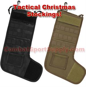 Tactical Molle Christmas Holiday Stockings