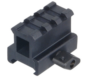 "UTG 1"" Low Profile Riser Mount 3 Slot MNT-RS10S3"