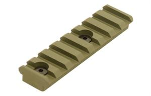 Keymod Picatinny Rail Section-OD Green