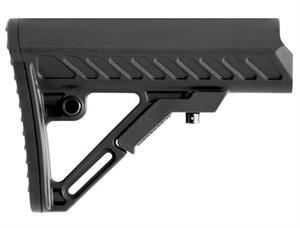 UTG PRO AR15 / M4 S2 Mil-Spec Collapsible Stock Black RBUS2BMS