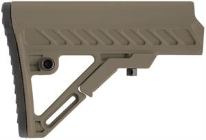 UTG PRO AR15 / M4 S2 Mil-Spec Collapsible Stock FDE RBUS2DMS